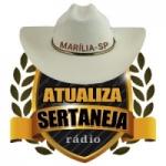 Logo da emissora Rádio Atualiza Sertaneja