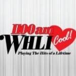 Logo da emissora WHLI 1100 AM