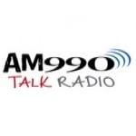 Logo da emissora KWAM 990 AM