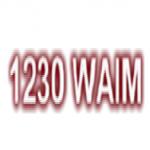 Logo da emissora WAIM 1230 AM