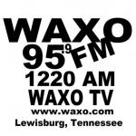 Logo da emissora WAXO 1220 AM
