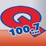 Logo da emissora WBGQ 100.7 FM