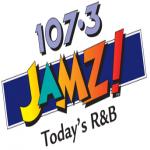 Logo da emissora WJMZ JAMZ 107.3 FM