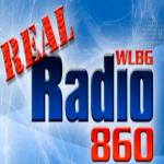 Logo da emissora WLBG 860 AM