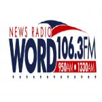 Logo da emissora WORD 1330 AM