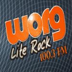 Logo da emissora WORG 100.3 FM