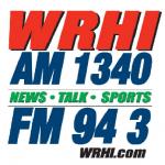 Logo da emissora WRHI 1340 AM