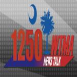 Logo da emissora WTMA 1250 AM