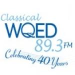 Logo da emissora WQED 89.3 FM