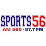 Logo da emissora WHBQ 560 AM