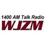 Logo da emissora WJZM 1400 AM