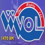 Logo da emissora WVOL 1470 AM