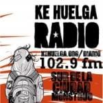 Logo da emissora Radio Ké Huelga 102.9 FM