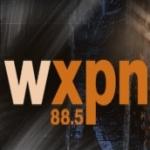 Logo da emissora WXPN 88.5 FM Folk Alley