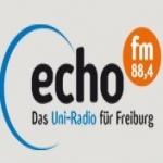 Logo da emissora Echo 88.4 FM