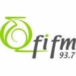 Logo da emissora Rádio FI 93.7 FM