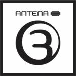 Logo da emissora RTP Rádio Antena 3 105.2 FM