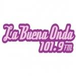 Logo da emissora XEAD La Buena Onda 101.9 FM