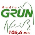 Logo da emissora Radio Gruen Weiss 106.6 FM
