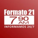 Logo da emissora Radio Formato 21 790 AM
