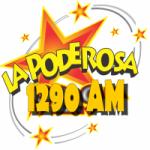 Logo da emissora Radio La Poderosa 1290 AM