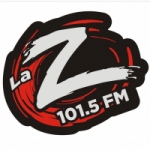 Logo da emissora Radio La Zeta 101.5 FM
