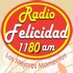 Logo da emissora XEFR Felicidad 1180 AM