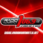 Logo da emissora XEHT 810 AM 106.9 FM