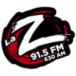 Logo da emissora Radio La Zeta 91.5 FM 630 AM