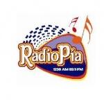 Logo da emissora XELP Pia 1230 AM 89.9 FM