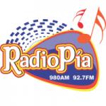 Logo da emissora Radio Pía 92.7 FM