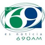 Logo da emissora Radio La 69 690 AM