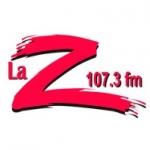 Logo da emissora XEQR-FM La-Z 107.3 FM