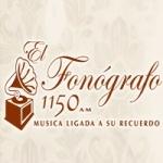 Logo da emissora XERC El Fonografo 1150 AM
