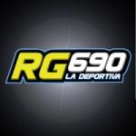 Logo da emissora Radio RG La Deportiva 690 AM