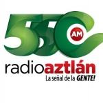 Logo da emissora XETNC Aztlan 550 AM