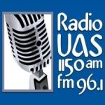 Logo da emissora XEUAS 1150 AM