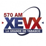 Logo da emissora XEVX 570 AM