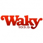 Logo da emissora Radio WAKY 103.5 FM