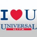 Logo da emissora XHFO Universal 92.1 FM