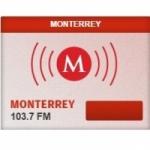 Logo da emissora Radio Milenio 103.7 FM