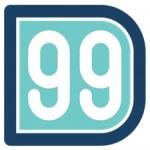 Logo da emissora XHJD 98.9 FM