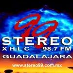Logo da emissora XHLC 99 Stereo FM