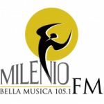 Logo da emissora Radio Milenio 105.1 FM