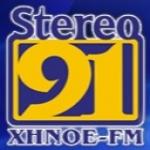Logo da emissora XHNOE Stereo 91 FM