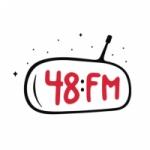 Logo da emissora Radio 48 FM 105