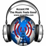 Logo da emissora Radio Accent FM