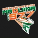 Logo da emissora XHOT Maquina 97.7 FM