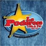 Logo da emissora XHQT La Poderosa 106.9 FM