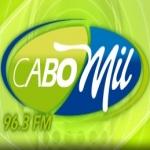 Logo da emissora XHSJS Cabomil 96.3 FM